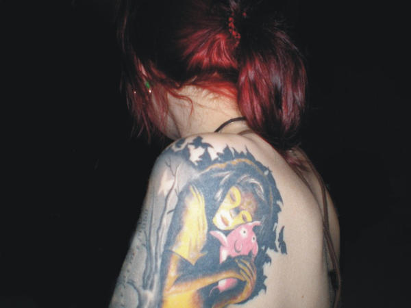 my shoulder - shoulder tattoo
