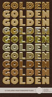Golden Photoshop Styles