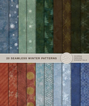 20 Colorful Winter Backgrounds
