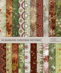 seamless christmas patterns 2