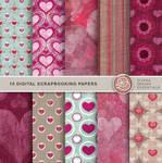 Scrapbooking Papers Valentine