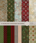 13 seamless Christmas Patterns