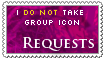 I do not take requests - group icon - closed by Asagi-Hyuuei