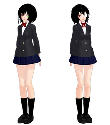 Misaki Mei Another- MMD Model Download by Reina-R