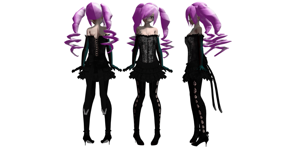 Mmd model download