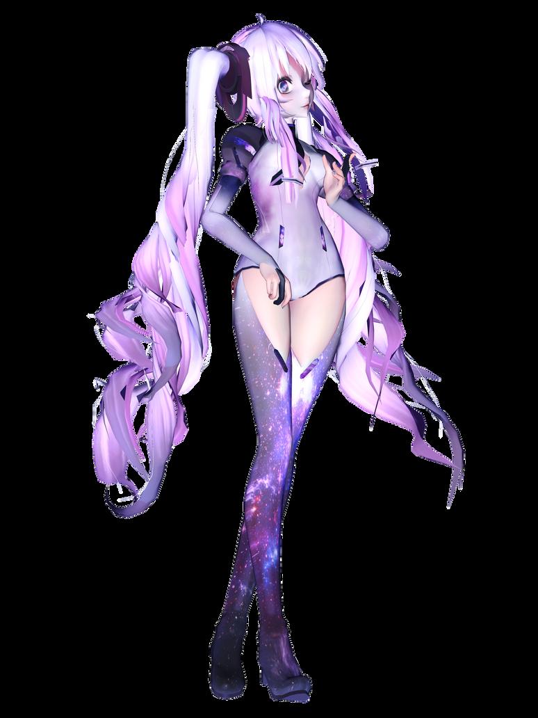 Stardust Miku - Render by Reina-R