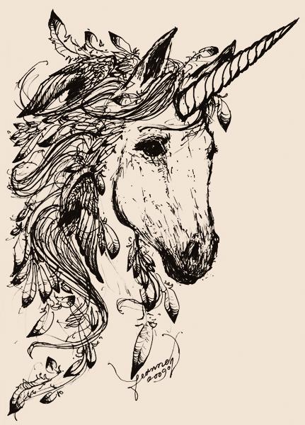 Feathered Unicorn