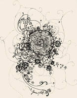 Stars Ink and Roses by feanne