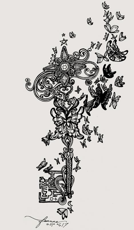 key to the secret garden by feanne on deviantart. Black Bedroom Furniture Sets. Home Design Ideas