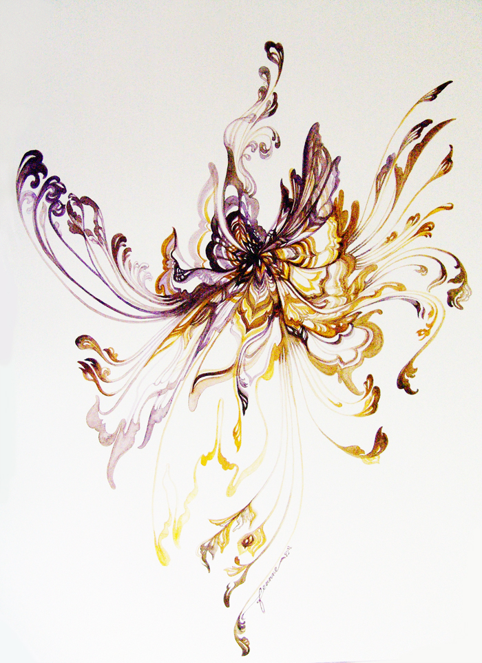 Violet + Sunlight Mandala by feanne