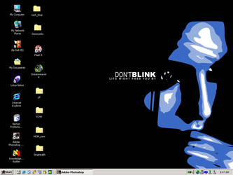 Don Blink Desktop by springapple