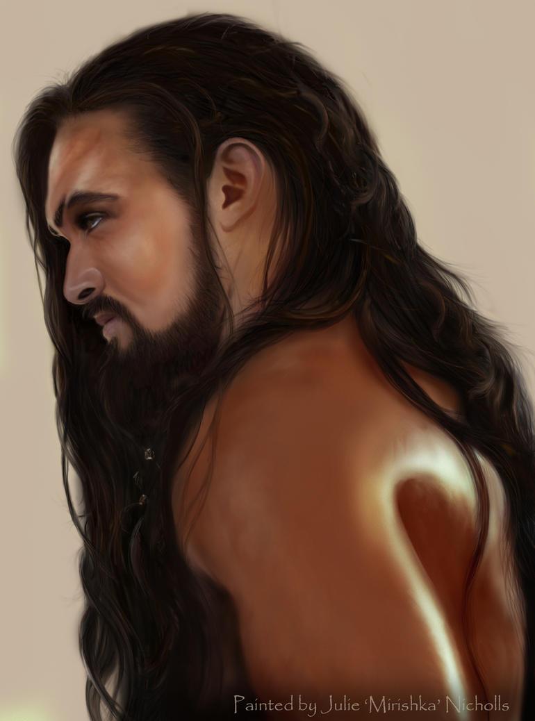 Khal Drogo by Mirishka by mirishka10