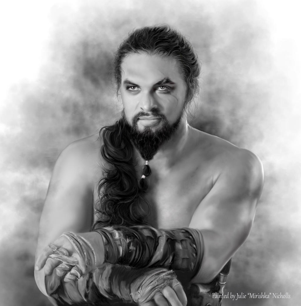 Jason Momoa Game Of Thrones: Khal Drogo By Mirishka By Mirishka10 On DeviantArt