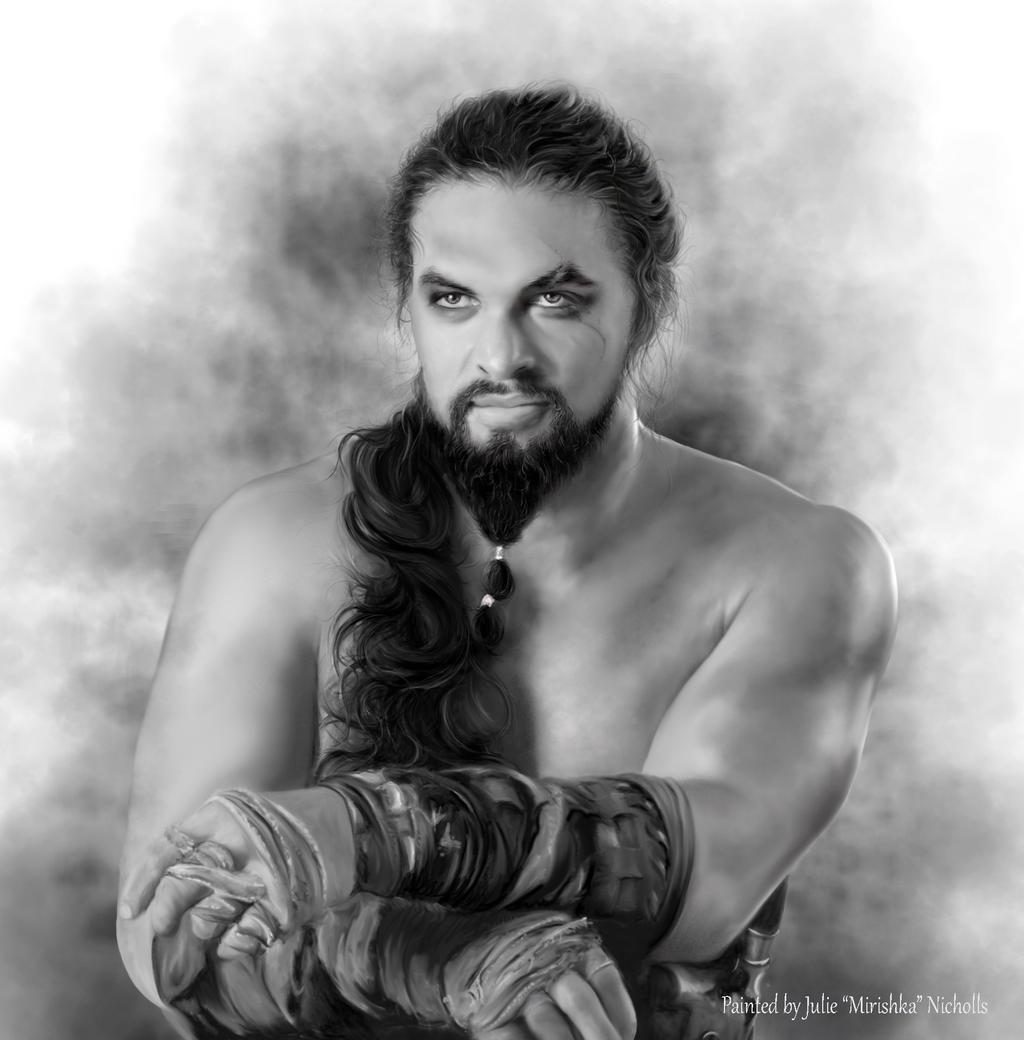 Jason Momoa Drogo: Khal Drogo By Mirishka By Mirishka10 On DeviantArt