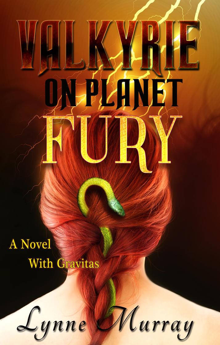 Valkyrie on planet fury - cover art by mirishka10