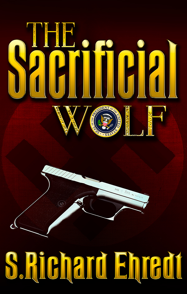 Sacrificial Wolf - book cover art by mirishka10