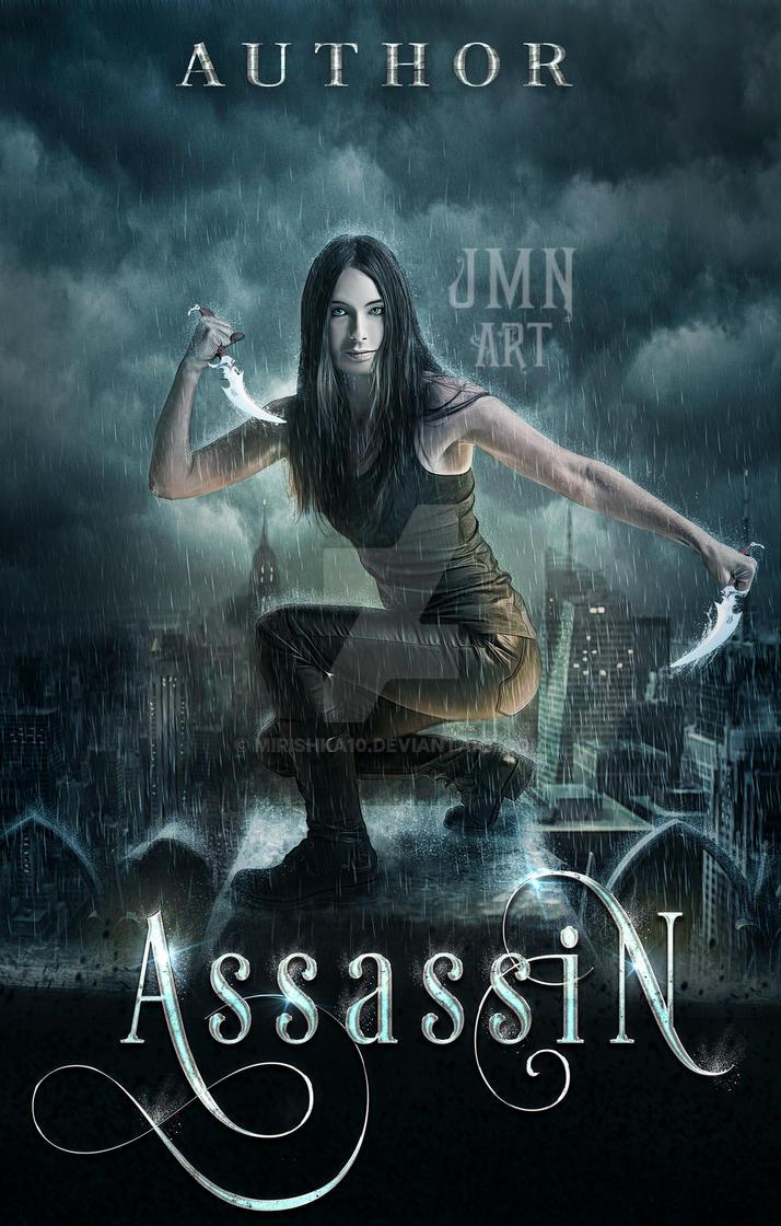 Assassin - pre made book cover by mirishka10