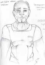 Soldier by DarkNightGraphX