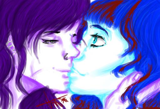 Thank you kiss