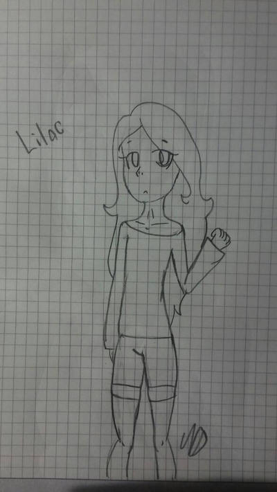 Lilac (Fanart for NeonScarfs) by Lpsfangirl182