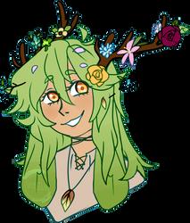 Flowering Florian by Tr0n1ka