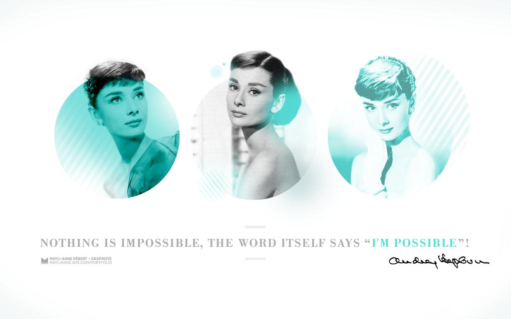 Audrey Hepburn Wallpaper by titemay