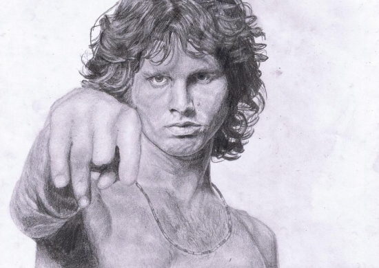 Jim Morrison by pandamovies212