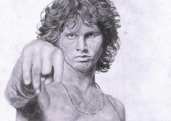 Jim Morrison by pandamovies212