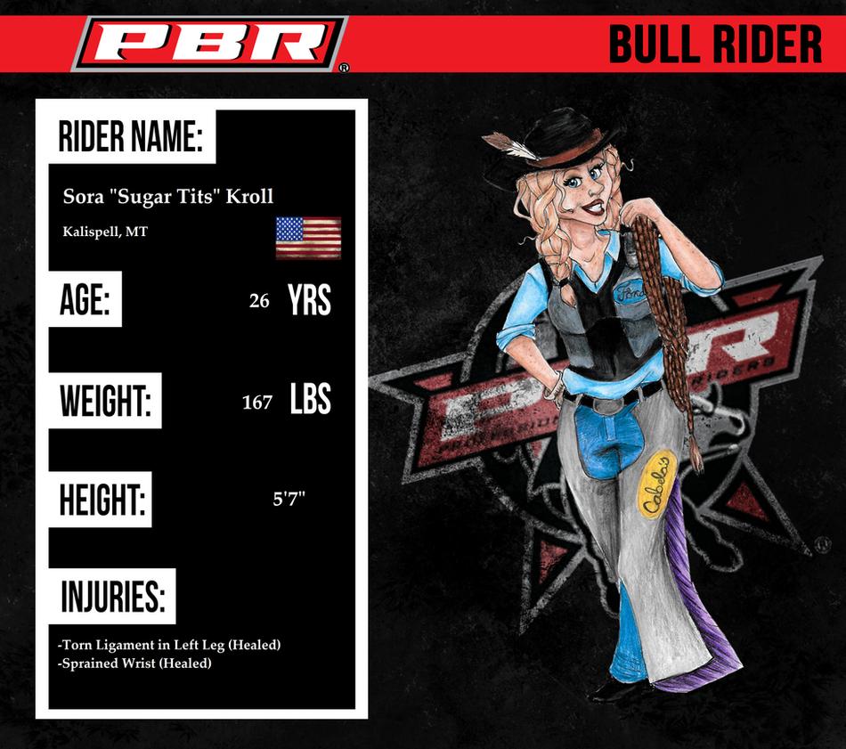 R004 ll Sora 'Sugar Tits' Kroll ll PBR ll Rider by AgentDarkhorse