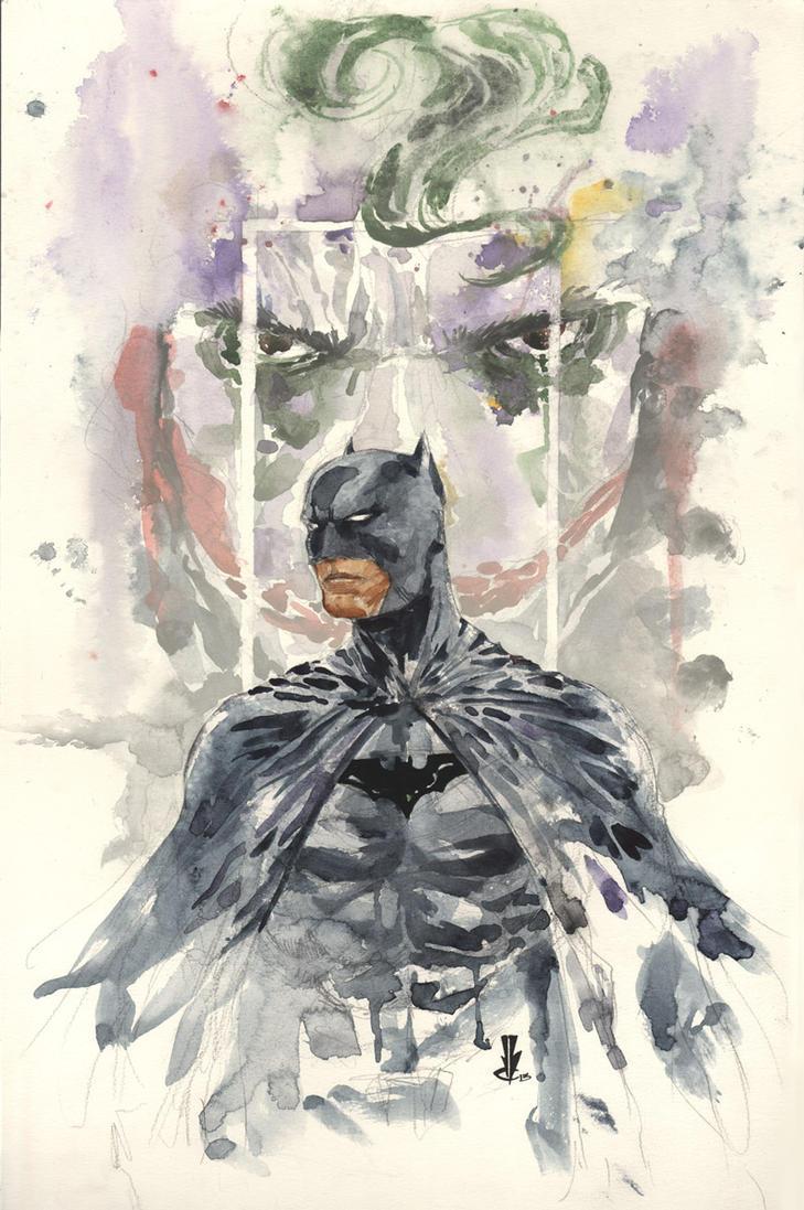 batman and joker by JoeyLeeCabral