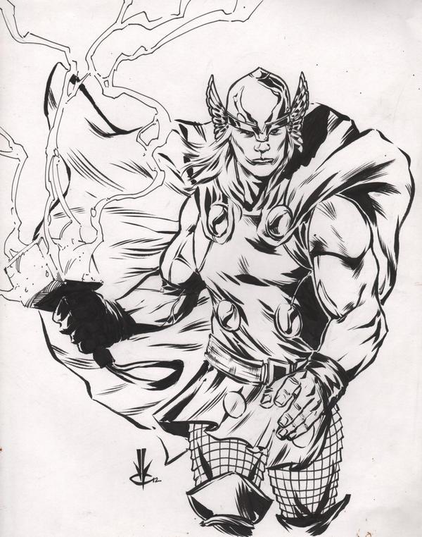 Thor by JoeyLeeCabral