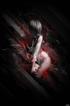 Dark Red, Beauty Girl by Hades