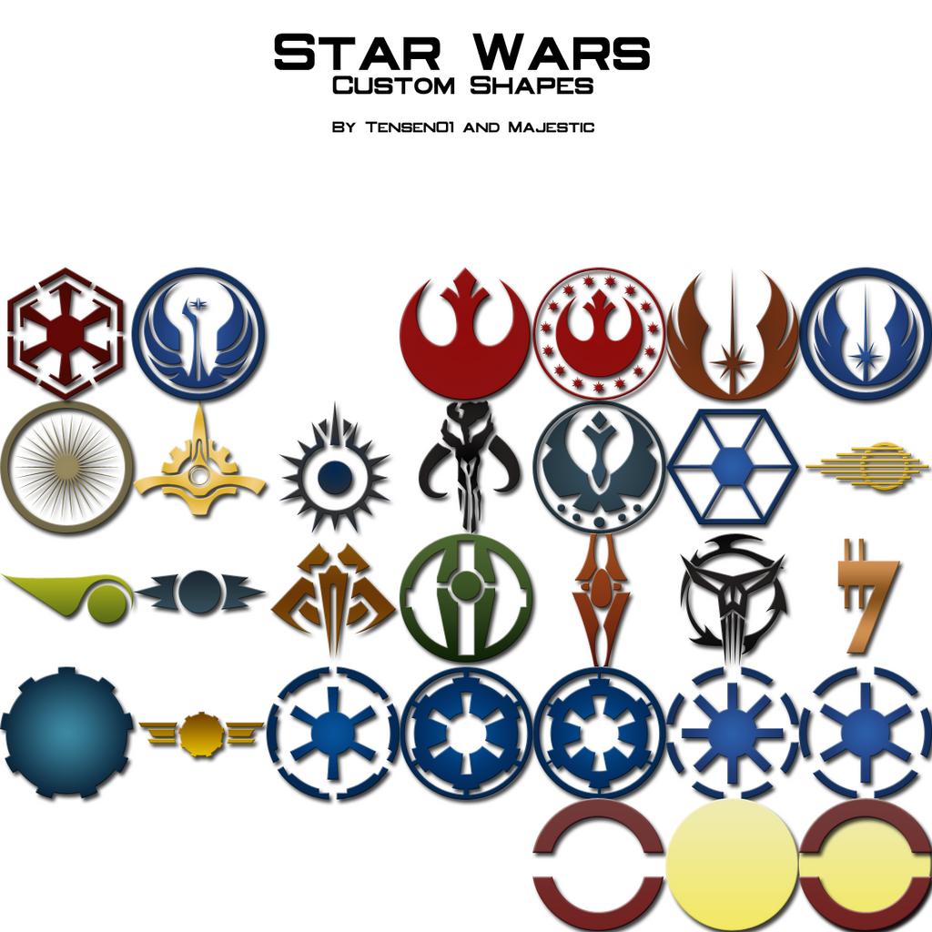 star wars logos by majestic msfc on deviantart. Black Bedroom Furniture Sets. Home Design Ideas