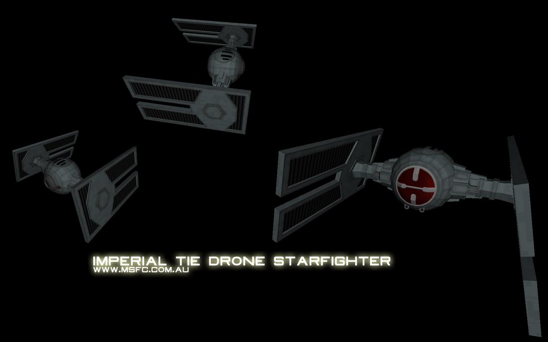 Tie Drone by Majestic-MSFC