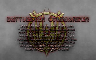 Battlestar Commander Wallpaper #3 by Majestic-MSFC