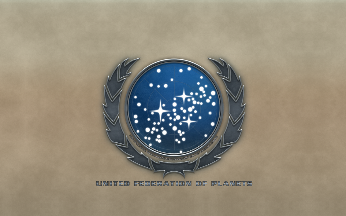 United Federation of Planets Type 1 Logo by Majestic-MSFC