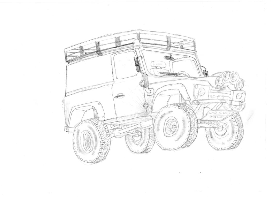 land rover defender 90 by clynxc on deviantart