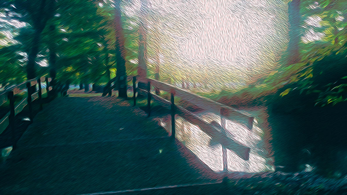 Park Bridge 1 (1366x768) by codystockmm