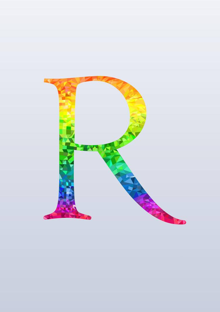 The Letter R by nameIsRaJ on DeviantArt