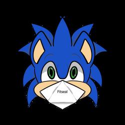 Sonic Wears a Mask
