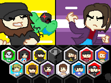 Let's Play: Game Grumps VS by 8-BitSpider