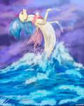 On the waters princess Skystar