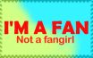 I'm a Fan stamp by Raskothegreat