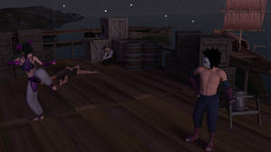 Eroninja - Little Black Book - Dockside Encounter by Shinteo