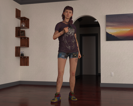 Cassidy from Life is Strange 2 for G8F