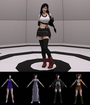 FF7R Tifa for G8F and G8.1F