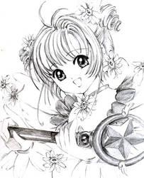 Sakura Kinomoto by Takako-sensei