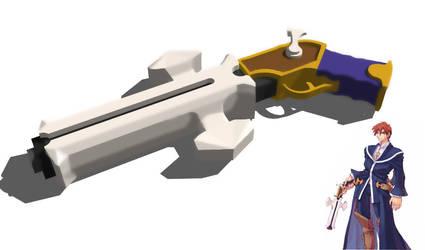 Croix's Gun by worldshaper