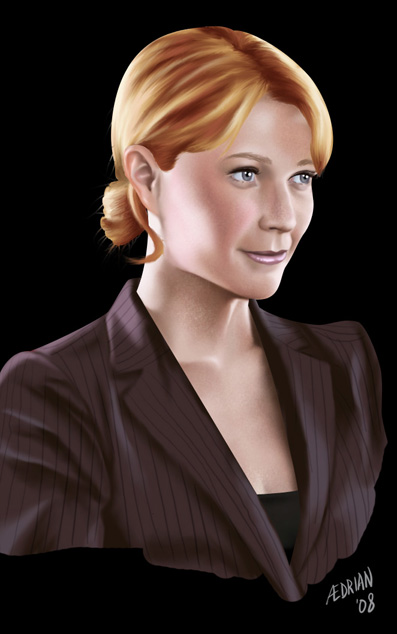 Pepper Potts by Aedrian