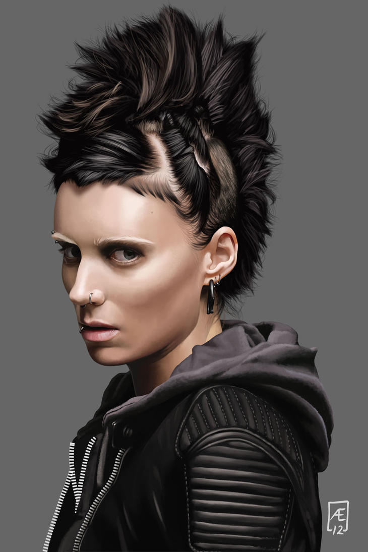 The girl with the dragon tattoo by aedrian on deviantart for Cast of girl with the dragon tattoo